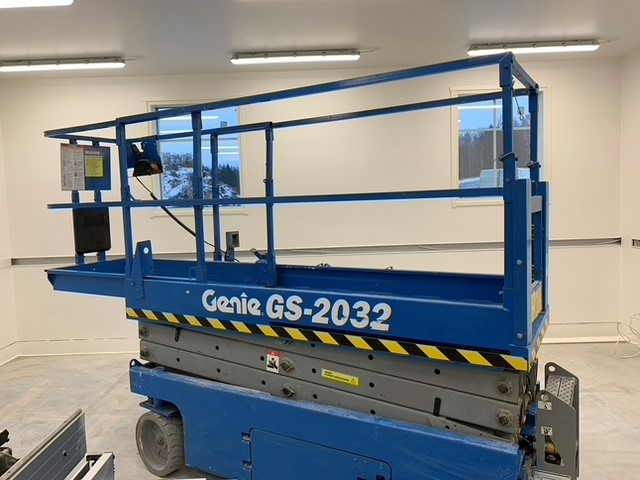 Genie GS-2032 vuokraus - tekniset tiedot